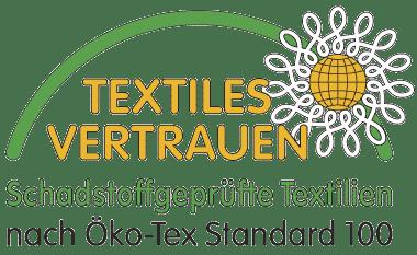 Textiles Vertrauen OEKO TEX 100 Label Textildruck
