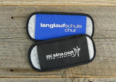 Skilanglaufhalter für das SSC Rätia und der Langlaufschule Chur