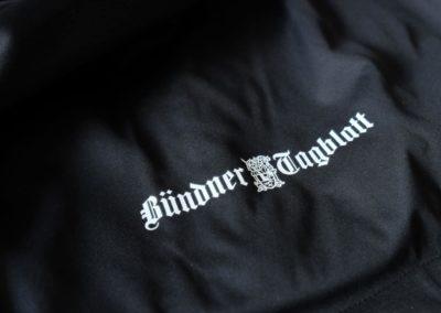 Buendner Tagblatt mammut Softshell Jacken bedrucken