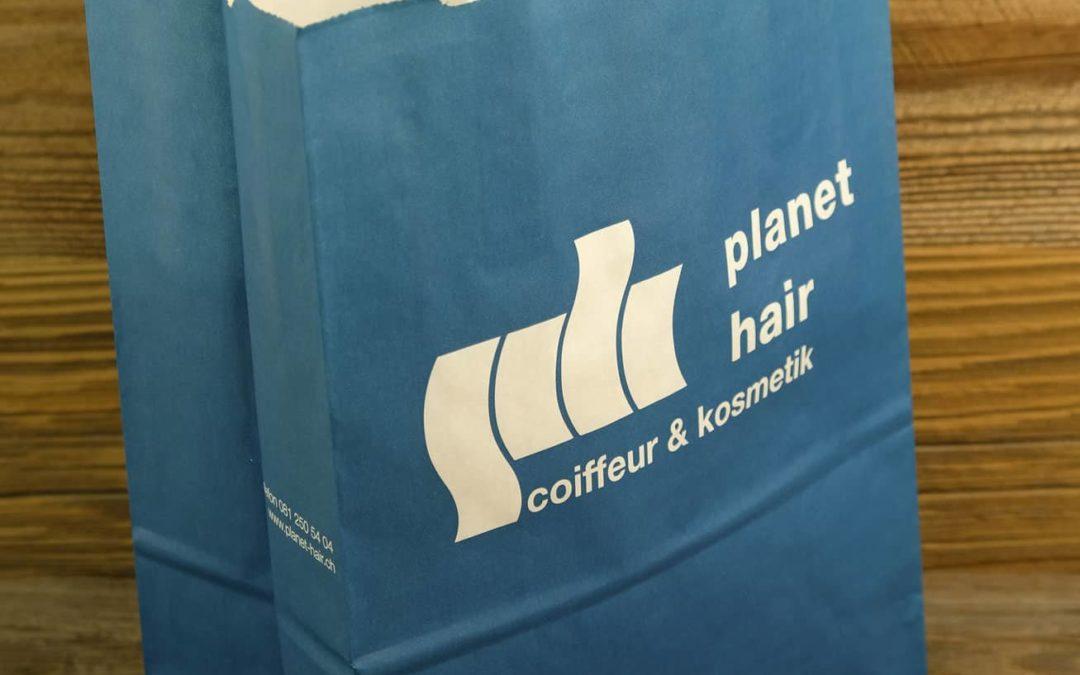 Papiertasche Planet Hair, Chur