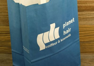 Papiertasche Planet Hair, Chur