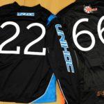 Druck auf Goalieshirts von Unihoc für die RedDevils