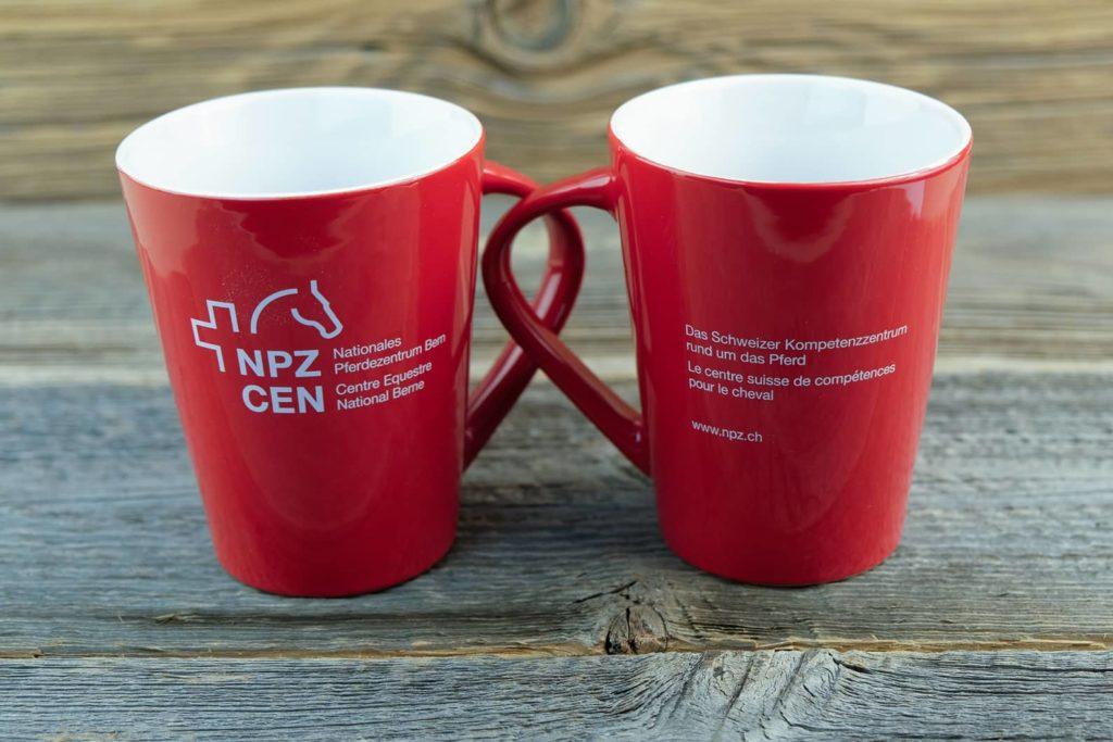 Tassen für das NPZ in Bern