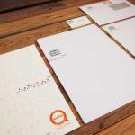 Visitenkarten, Briefpapier, Couverts und Mappen für Cosmait in Chur