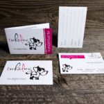 Kunden- und Visitenkarten für tschiidog die Hundeboutique