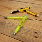 Kugelschreiber in verschieden Formaten für die Niki Services in Domat Ems