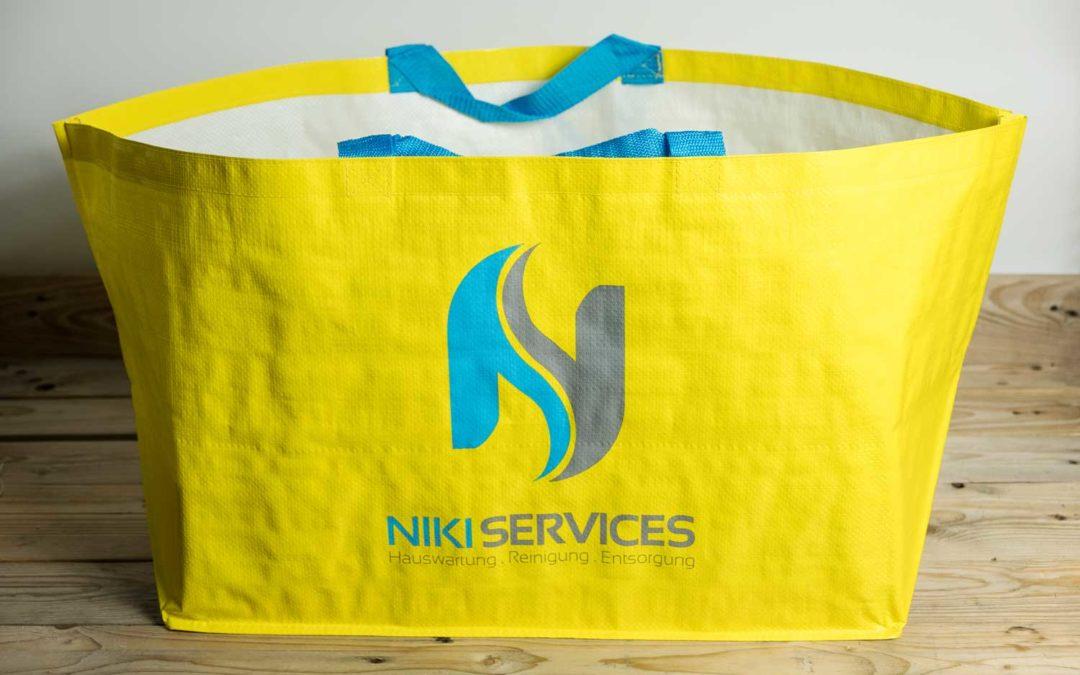 """""""Ikea Style"""" Taschen für Niki Services, Domat Ems"""