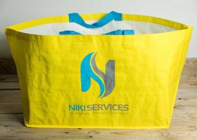 «Ikea Style» Taschen für Niki Services, Domat Ems