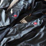 Schöne Stickerei auf Rukka Bekleidung für das Radio Südostschweiz