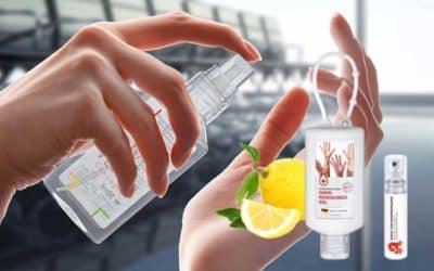 Antibakterielle Gels und Sprays zur Handreinigung – das perfekte Kundengeschenk