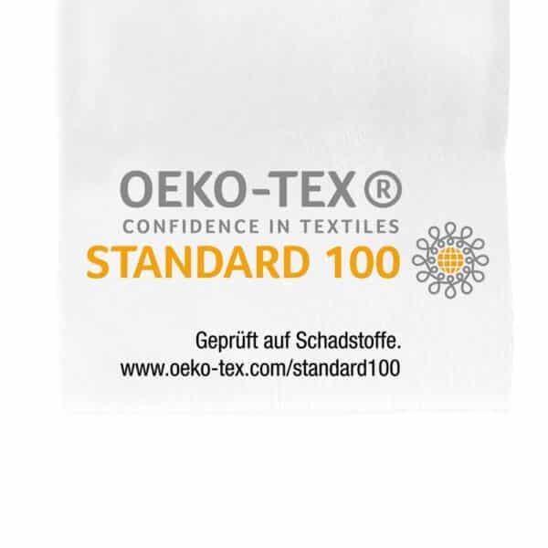 Das ist das OEKO Label Oekotex 100