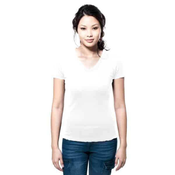 T-Shirt Lucy Damen weiss