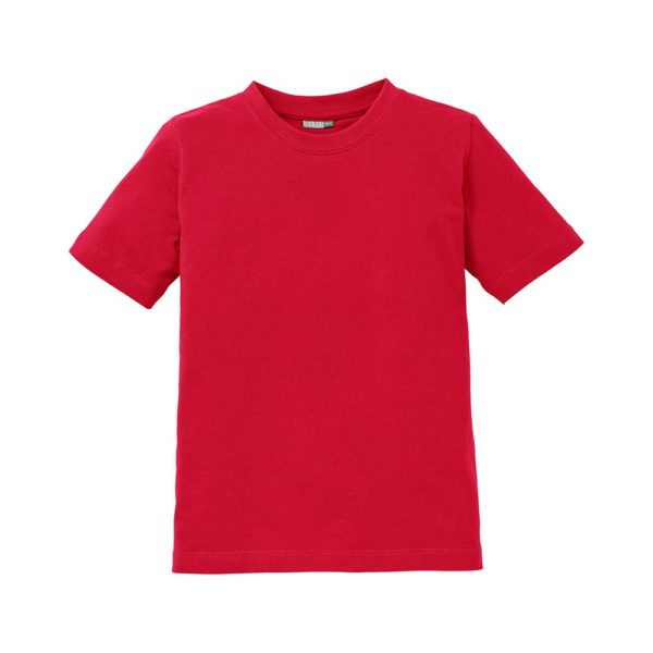 T-Shirt Pure Heavy Kinder rot