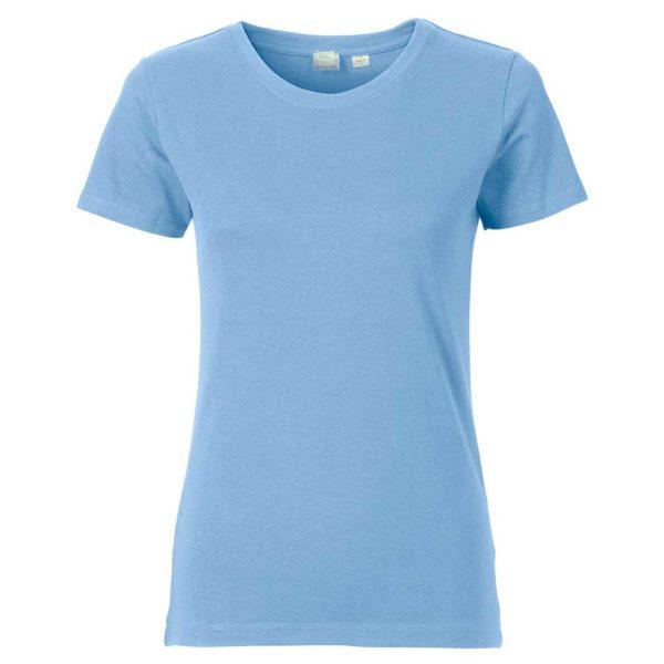 T-Shirt Pure Damen hellblau