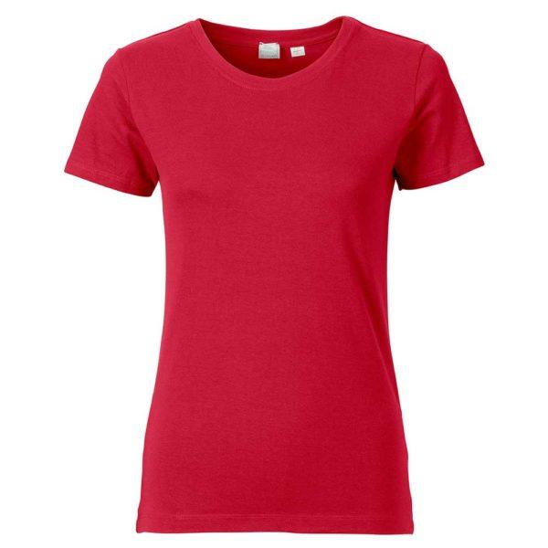 T-Shirt Pure Damen rot