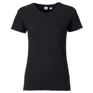 T-Shirt Pure Damen schwarz
