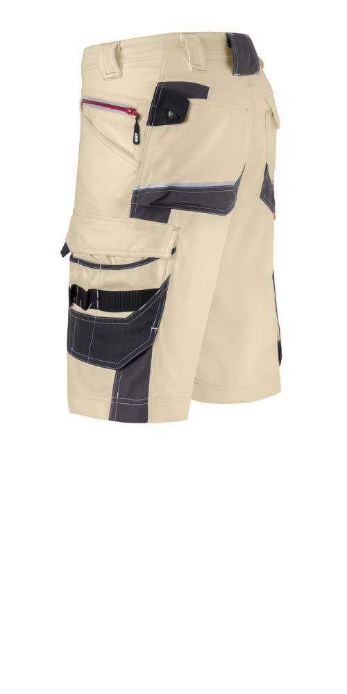 arbeitshosen kurz havep attitude workwear beige